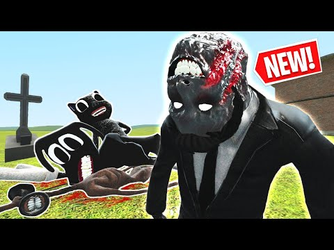 (New) Can anyone survive the new man with the upside down face?! 🙃 (garrys mod)