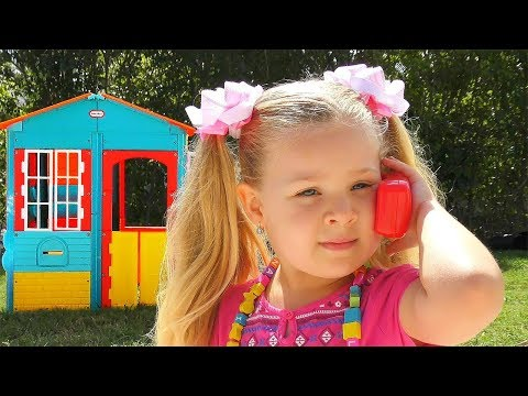 (New) Roma and diana play fun with favorite toys, funny stories by kids diana show