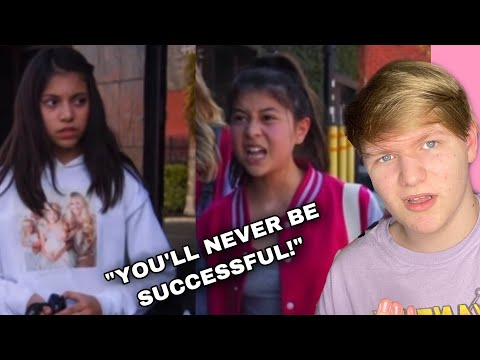 (New) Mean girls shame youtuber ft. cole labrant   reacting to dhar mann and cole labrant