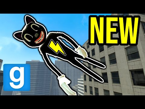 (New) Super cartoon cat!! (garrys mod nextbot)