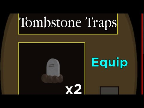 (HD) How to get the new tombstone trap in the new halloween update in piggy!