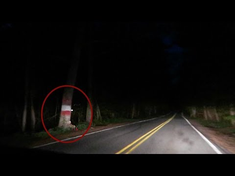(New) Something terrifying caught on camera... on america's most haunted road.