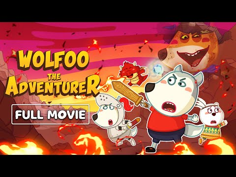 (New) Wolf family new! 💥 wolfoo the adventurer - [90 minutes - full series 1] 💥 wolfoo series kids cartoon