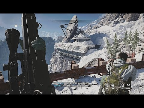 (New) Winter sniper mission - call of duty black ops cold war