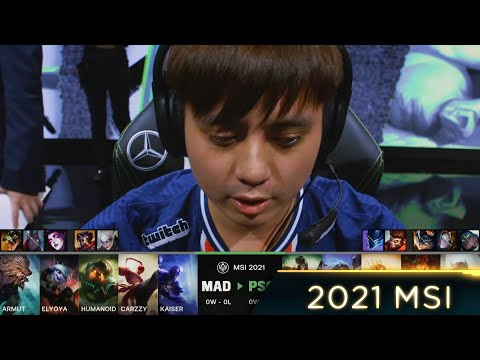 (New) Armut plays lee sin top - mad vs psg highlights - 2021 msi day 1