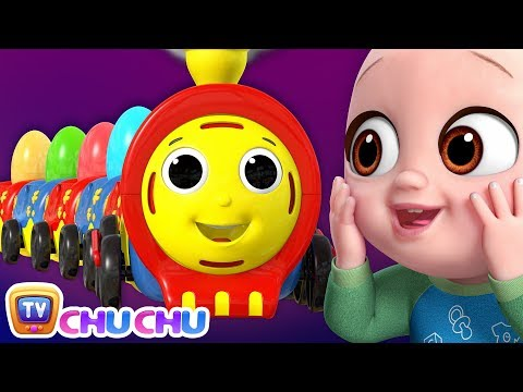 (Ver Filmes) Farm animals song with chu chu toy train - animal sounds song - chuchutv peek e play surprise eggs