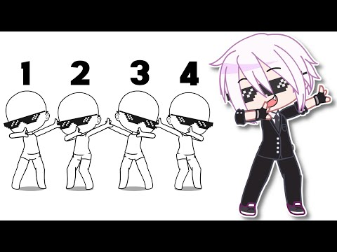 (New) Dance tutorial (use it, dont need to credit☺️) gacha club