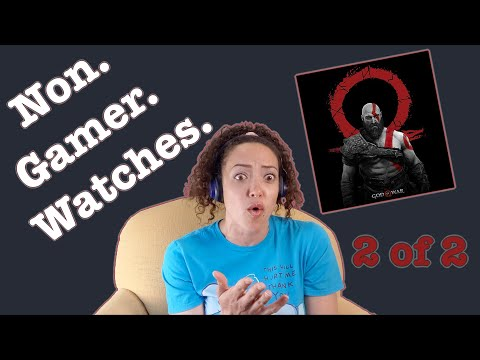 (New) Non-gamer watches god of war -- is this what the game looks like?!