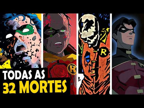 (New) Todas as 30 mortes do robin de todos os tempos
