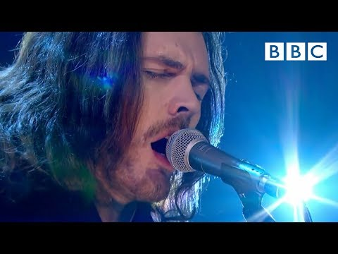 (New) Hozier performs his hit song take me to church   later... with jools holland - bbc