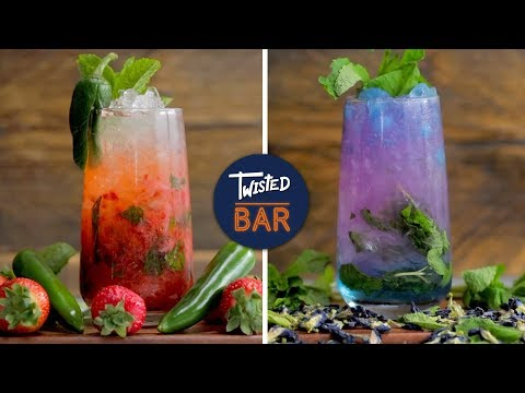 (HD) 5 mojitos everyone must make