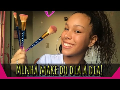 (New) Minha make do dia a dia! - julia olliver