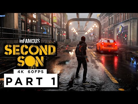 (New) Infamous second son ps5 walkthrough gameplay part 1 - (4k 60fps)