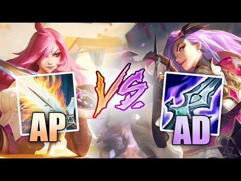(New) Is ad or ap katarina better?