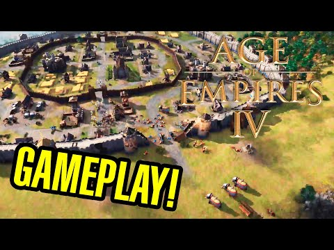 (New) Age of empires iv - gameplay y primeras impresiones !