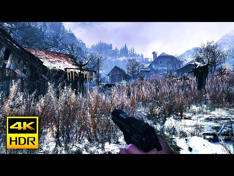 (New) Resident evil village 8 [ps5™4k hdr] village gameplay walkthrough demo part-1(no commentary)