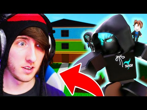 (HD) Kreekcraft reacts to tanqr (scared) | roblox rb battles