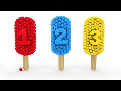 (Ver Filmes) Learn numbers with 3d popsicle for children kids 1-10