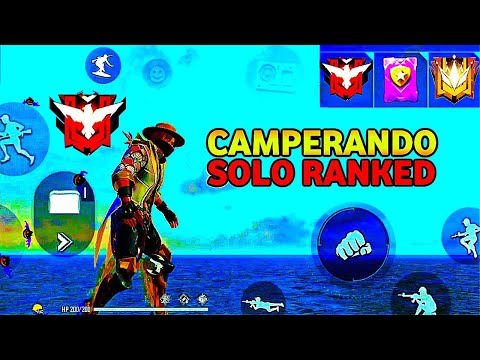 (New) Como camperar no free fire solo ranked