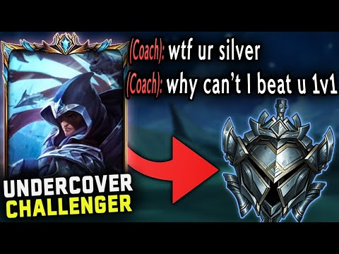 (New) I hired a gold coach and pretended to be a silver talon main