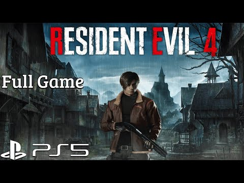 (New) Resident evil 4 ps5 - full game walkthrough gameplay ps5 (no commentary)