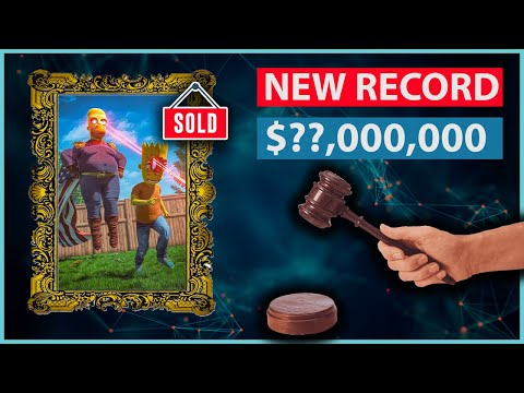(Ver Filmes) Beeple nft art sells for $69,000,000 - new record!
