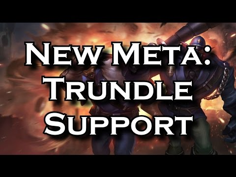 (New) New meta: trundle support - the counter to sivir comps | league of legends lol