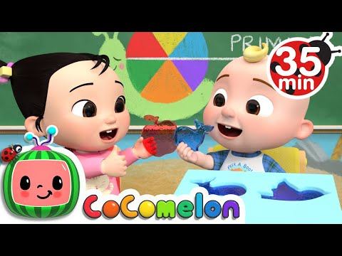(Ver Filmes) The jello color song + more nursery rhymes e kids songs - cocomelon