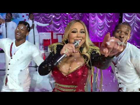 (VFHD Online) Mariah carey - all i want for christmas is you (live from europe)