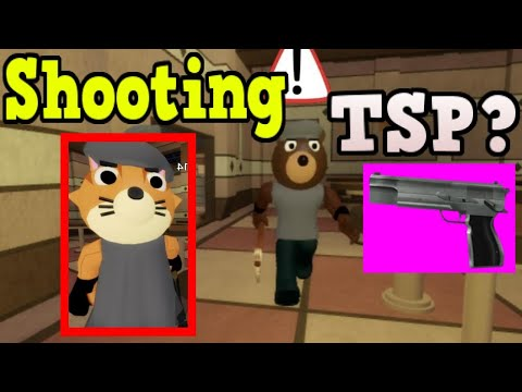 (New) What happens when tsp members are shot? roblox piggy