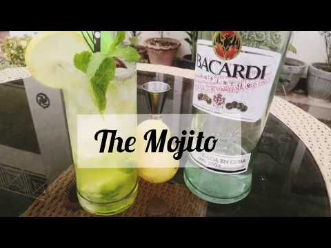 (New) The mojito cocktail - made with white rum e mountain dew!