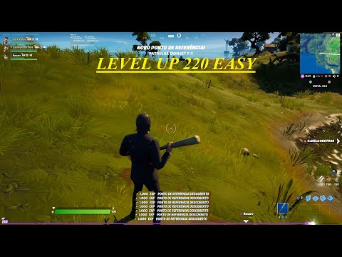 (New) Fortnite level up 220 easy*xp infinito (faça antes que a epic retire )