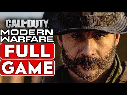 (New) Call of duty modern warfare gameplay walkthrough part 1 campaign full game [1080p hd ] no commentary