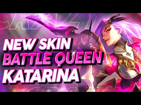 (New) Katevolved | new skin battle queen katarina! this is insane... 😱
