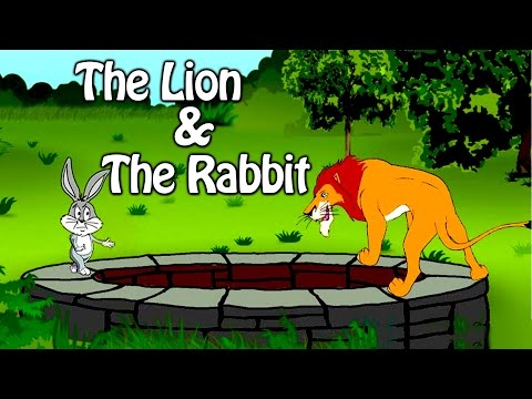 (Ver Filmes) The lion and the rabbit | grandpa stories | english moral stories for kids