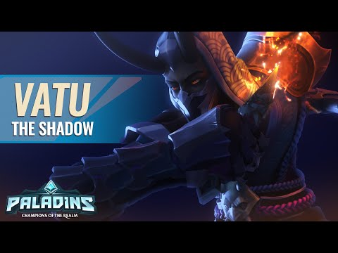 (New) Paladins - champion teaser - vatu, the shadow