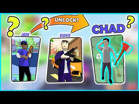 (New) Unlock 3rd character? in dude theft wars - gameplay 9 fhd (android)