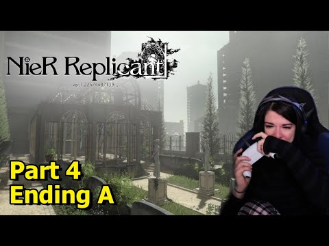 (New) Nier replicant ver 1.22 - part 4 - ending a -