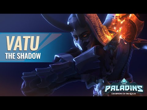 (New) Gameplay test vatu the new champions of paladins by simaox (pts)