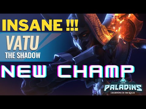 (New) New hero vatu is nice e hard! - paladins pts gameplay