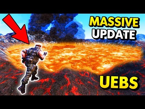 (New) Can the new volcano kill chuck norris?! (uebs   ultimate epic battle simulator funny gameplay)