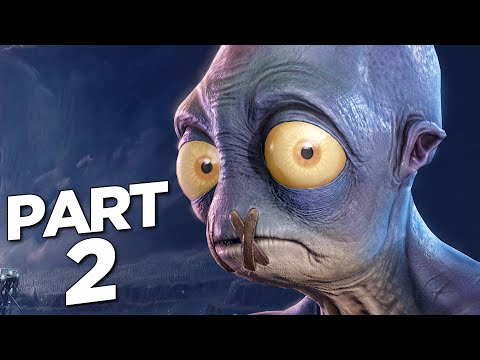 (New) Oddworld soulstorm ps5 walkthrough gameplay part 2 - abe (playstation 5)