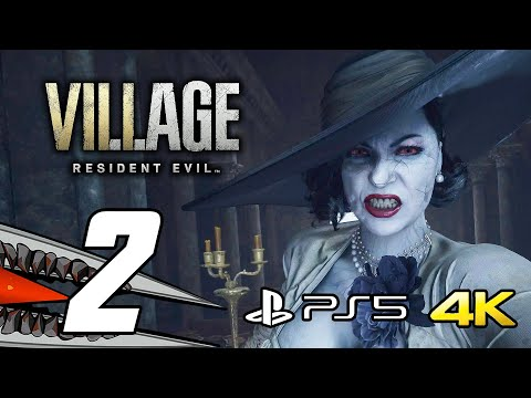 (New) Resident evil 8 village - gameplay walkthrough part 2 (ps5 4k 60fps + ray tracing)