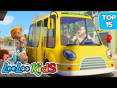 (Ver Filmes) Johny johny and the wheels on the bus - top 15 songs for kids on youtube