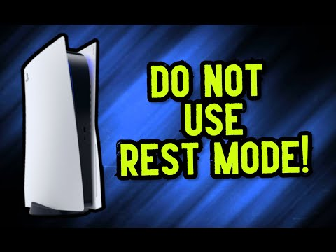 (New) Warning: do not use ps5 rest mode!