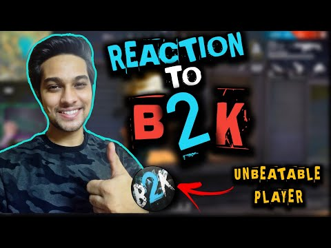 (New) Born2kill(b2k) gameplay reaction by kokx gaming |many things to learn from them | awm king