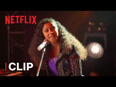 (HD) Stand tall performance clip | julie and the phantoms | netflix futures