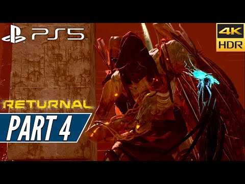 (New) Returnal (ps5) walkthrough gameplay 4k 60fps hdr + ray tracing [part 4] ixion - no commentary