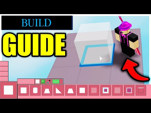 (HD) Piggy build mode guide! (how to build like minitoon)