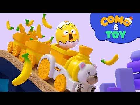 (New) Como | train tour | learn colors and words | cartoon video for kids | como kids tv